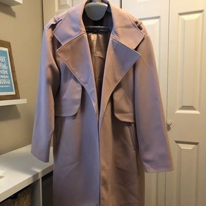 Jackets & Blazers - Blush lightweight coat